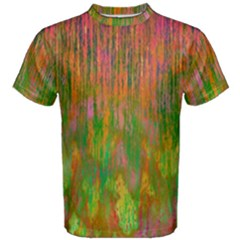 Abstract Trippy Bright Melting Men s Cotton Tee