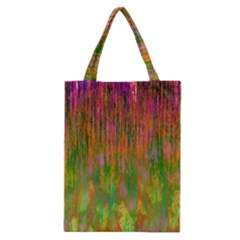 Abstract Trippy Bright Melting Classic Tote Bag