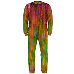 Abstract Trippy Bright Melting OnePiece Jumpsuit (Men)