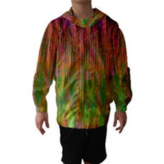 Abstract Trippy Bright Melting Hooded Wind Breaker (kids)