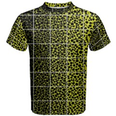 Pixel Gradient Pattern Men s Cotton Tee