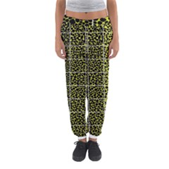 Pixel Gradient Pattern Women s Jogger Sweatpants