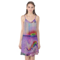 Glitch Art Abstract Camis Nightgown