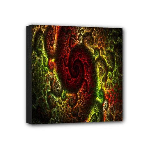 Fractal Digital Art Mini Canvas 4  X 4