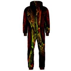 Fractal Digital Art Hooded Jumpsuit (Men)