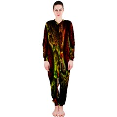 Fractal Digital Art Onepiece Jumpsuit (ladies)