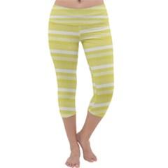 Lines Capri Yoga Leggings