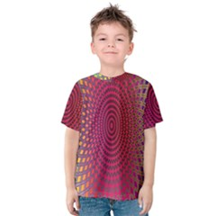 Abstract Circle Colorful Kids  Cotton Tee