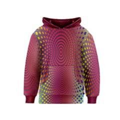 Abstract Circle Colorful Kids  Pullover Hoodie