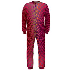 Abstract Circle Colorful OnePiece Jumpsuit (Men)