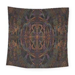 Digital Art Square Tapestry (large)