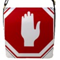 Road Sign Stop Hand Finger Flap Covers (S)  View1