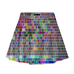 Plasma Gradient Phalanx Mini Flare Skirt
