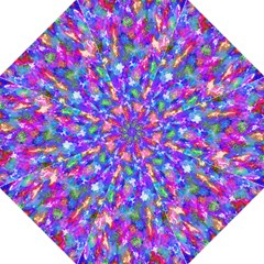 Abstract Trippy Bright Sky Space Straight Umbrellas