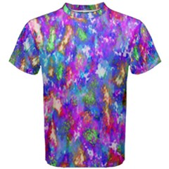 Abstract Trippy Bright Sky Space Men s Cotton Tee
