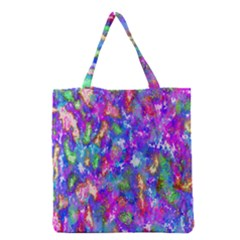 Abstract Trippy Bright Sky Space Grocery Tote Bag