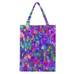 Abstract Trippy Bright Sky Space Classic Tote Bag