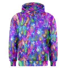 Abstract Trippy Bright Sky Space Men s Pullover Hoodie