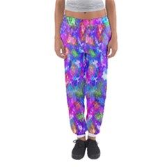 Abstract Trippy Bright Sky Space Women s Jogger Sweatpants