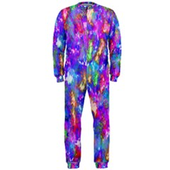 Abstract Trippy Bright Sky Space OnePiece Jumpsuit (Men)
