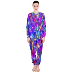 Abstract Trippy Bright Sky Space OnePiece Jumpsuit (Ladies)