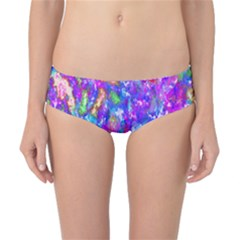 Abstract Trippy Bright Sky Space Classic Bikini Bottoms