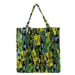 Don t Panic Digital Security Helpline Access Grocery Tote Bag