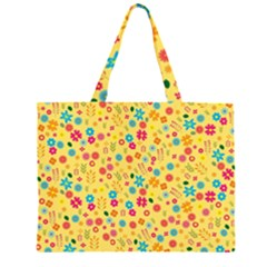Floral pattern Large Tote Bag