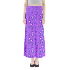 Seahorse pattern Maxi Skirts