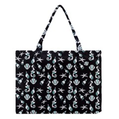 Seahorse pattern Medium Tote Bag