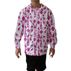 Seahorse pattern Hooded Wind Breaker (Kids)