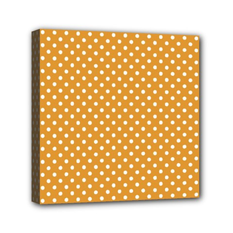 Polka dots Mini Canvas 6  x 6