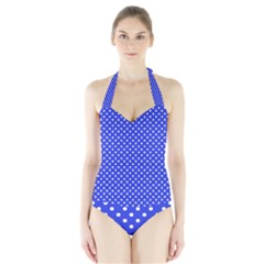Polka dots Halter Swimsuit