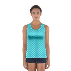 Polka dots Women s Sport Tank Top