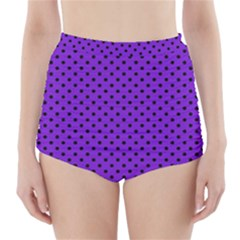 Polka dots High-Waisted Bikini Bottoms