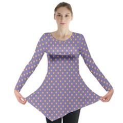 Polka dots Long Sleeve Tunic