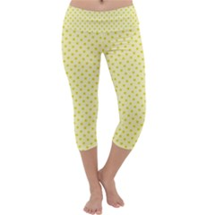 Polka dots Capri Yoga Leggings