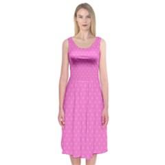 Polka dots Midi Sleeveless Dress