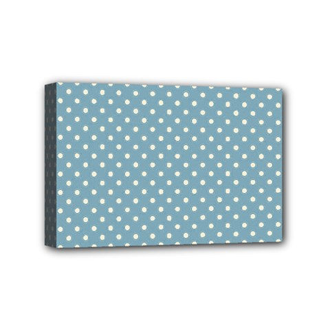 Polka dots Mini Canvas 6  x 4