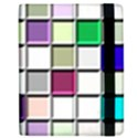Color Tiles Abstract Mosaic Background Apple iPad Mini Flip Case View2