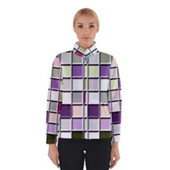 Color Tiles Abstract Mosaic Background Winterwear