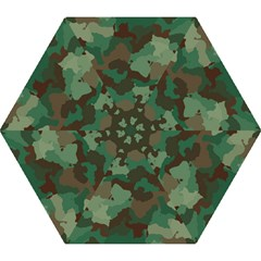 Camouflage Pattern A Completely Seamless Tile Able Background Design Mini Folding Umbrellas