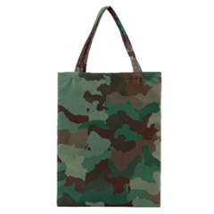 Camouflage Pattern A Completely Seamless Tile Able Background Design Classic Tote Bag