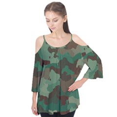 Camouflage Pattern A Completely Seamless Tile Able Background Design Flutter Tees