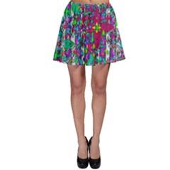 Sunny Roses In Rainy Weather Pop Art Skater Skirt