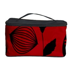 Congregation Of Floral Shades Pattern Cosmetic Storage Case