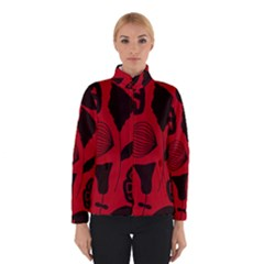 Congregation Of Floral Shades Pattern Winterwear