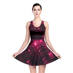 Picture Of Love In Magenta Declaration Of Love Reversible Skater Dress