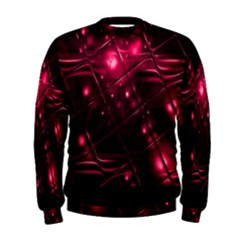 Picture Of Love In Magenta Declaration Of Love Men s Sweatshirt