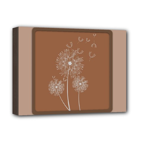 Dandelion Frame Card Template For Scrapbooking Deluxe Canvas 16  x 12